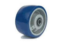 We at Trew feel that there is no one in the USA that manufactures a better polyurethane tired industrial wheel.