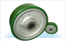 Polyurethane Tired Wheels